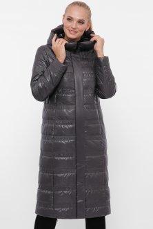 Жіноча демісезонна куртка Rolana Руна 083-37-56 56 Графіт