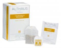 Чай травяной пакетированный Althaus Camomile Meadow 20 x 1.75 г (4260312441007)