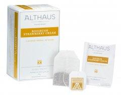 Чай фруктовый пакетированный Althaus Rooibush Strawberry Cream 20 x 1.75 г (4001258002798_4260312441038)