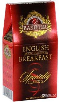 Чай черный рассыпной Basilur Избранная классика Английский завтрак 100 г (4792252920675_4792252920682)