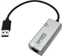 Адаптер STLab USB 3.0 to Gigabit Ethernet 0.18 м Black/Grey (U-980)