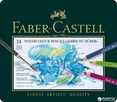 Набор цветных акварельных карандашей Faber-Castell Albrecht Dürer 24 шт (117524)