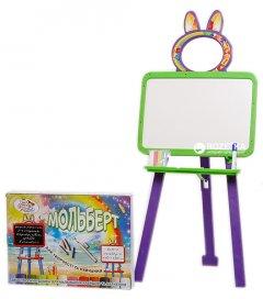 Мольберт двусторонний Active Baby Салатово-фиолетовый (013777/0106)