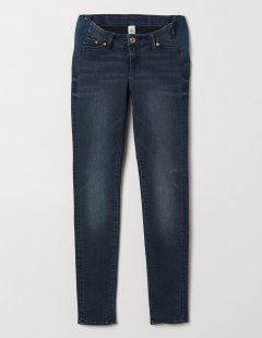 Джинси H&M Ж1050720 (06526098) колір темно-синій 7XL
