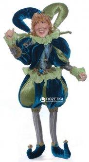 Фигурка Scorpio Кукла-шут 41 см Зелено-синяя (571113)(4824028004033)