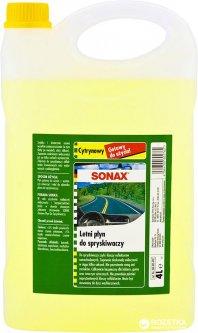 Очиститель стекла летний Sonax 4 л Лимон (4064700602762)