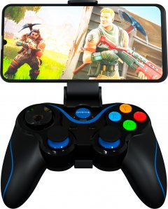 Беспроводной геймпад GamePro Bluetooth Android/iOS Black (MG550)
