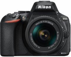 Фотоаппарат Nikon D5600 AF-P 18-55mm f/3.5-5.6G VR Black (VBA500K001)