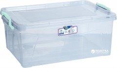 Контейнер для хранения Irak Plastik с крышкой 10 л Прозрачный (4653kmd)