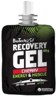 Предтренировочный комплекс Biotech Recovery Gel 60 г 1/12 Вишня (5999076205202)