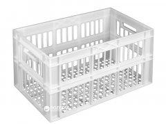 Ящик пластиковый перфорированный Полимерцентр 660х360х366 мм Белый (ST6336-3)