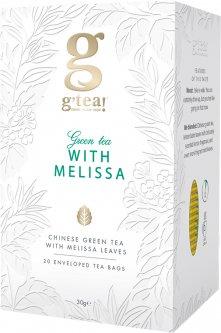 Зеленый чай Grace! с листьев мелиссы 1.5 г х 25 шт (5060207690409)