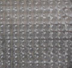 Шторка для ванной KORNEL 3D 180х180 KL-42 серая