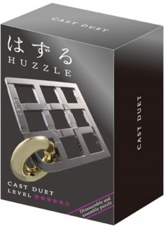 Литая головоломка Huzzle Duet (515088) (5407005150887)