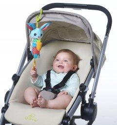 Подвеска на коляску и автокресло Tiny Love Зайчик Томас с ветреным колокольчиком (1114000458)