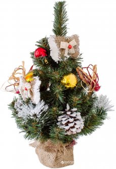 Искусственная елка с украшениями Новогодько (YES! Fun) Нарядная 0.45 м (4820079038140)