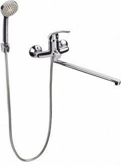 Смеситель для ванны LIDZ (CRM) Premiera 84 005-1 с душевым гарнитуром