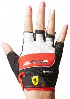 Перчатки для скейтбордов Ferrari M Красно-черные (6923744035944)