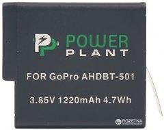 Aккумулятор PowerPlant для GoPro AHDBT-501 (CB970124)