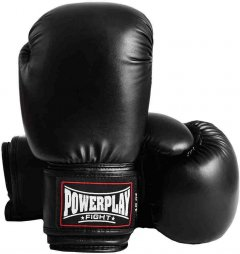 Перчатки боксерские PowerPlay 3004 12 унций Black (PP_3004_12oz_Black)