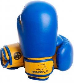 Перчатки боксерские PowerPlay 3004 JR 6 унций Blue/Yellow (PP_3004JR_6oz_Blue/Yellow)