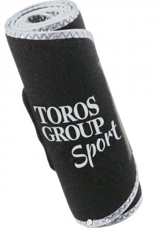 Пояс неопреновый Торос-Груп для похудения Тип-250-3 Black-Grey (4820114089076)