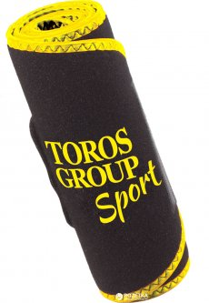Пояс неопреновый Торос-Груп для похудения Тип-250-3 Black-Yellow (4820114089069)
