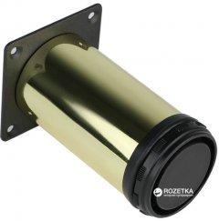 Ножка мебельная Smart регулируемая D50 мм H100 мм Золото (VR99643)