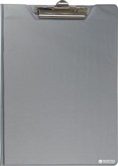 Папка-планшет Buromax А4 PVC Серая (BM.3415-09)