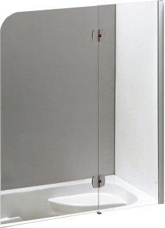 Шторка для ванны EGER 599-120CH/R правосторонняя
