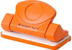 Дырокол Kangaro Perfo-10 металлический 10 листов Оранжевый (8901057201483)