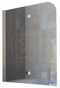 Шторка для ванны KOLLER POOL QP97 115x140 Clear левосторонняя