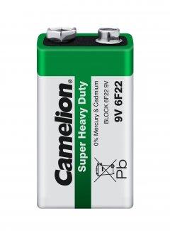 Батарейка Camelion 6F22 / Shrink Green (6F22-SP1G)