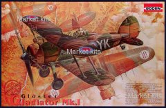 Британський біплан Gloster Gladiator Mk 1 1:48 RODEN (RN408)