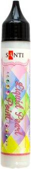 ЗD-гель Santi Liquid pearl gel белый (741199) (5056137102808)