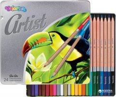 Карандаши цветные Artist Colorino 24 шт 24 цветов (83263PTR) (5907690883263)