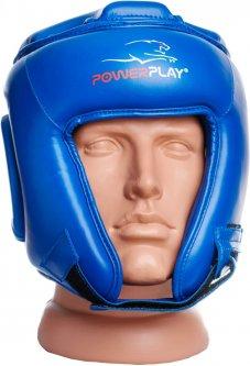 Боксерский шлем PowerPlay 3045 M Синий (PP_3045_M_Blue)