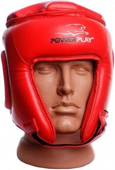 Боксерский шлем PowerPlay 3045 L Красный (PP_3045_L_Red)
