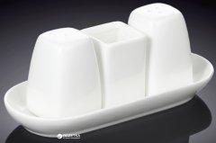 Набор для соли и перца на подставке Wilmax 4 предмета (WL-996005)