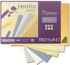 Cклейка для пастели Fabriano Tiziano A4 21х29.7 см 160 г/м2 30 листов Теплые цвета (8001348156871)