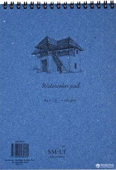 Альбом для акварели на спирали Smiltainis Authentic А4 280 г/м2 35 листов (4770644585725)