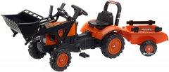 Детский трактор Falk 2065AM Kubota на педалях Оранжевый (2065AM) (3016202065140)