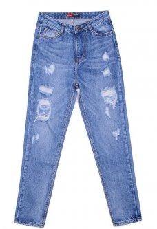 Relucky love jeans 820 Голубой