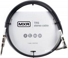 Инструментальный патч-кабель Dunlop DCIST03R MXR TRS Stereo Cable 1 м Black