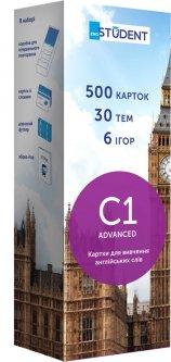 Карточки для изучения английского языка English Student C1 Advanced 500 шт (9789669773807)