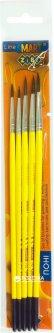 Набор кистей ZiBi Smart из пони 5 шт №1,2,3,4,5 (ZB.6963PR-4)