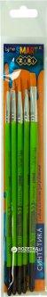 Набор кистей ZiBi Smart из синтетики 5 шт №1,3,5,5,10 (ZB.6966SRF-1)