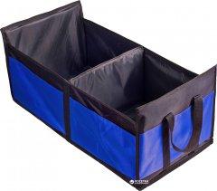 Сумка-органайзер в багажник Штурмовик АС-1536 BK/BL 60х37х25 см, складная