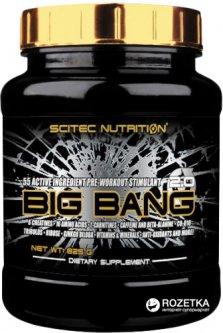 Предтренировочный комплекс Scitec Nutrition Big Bang 825 г Mango (728633111459)