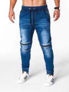 Джинсы мужские джоггеры D651 - голубой Ombre L Голубой